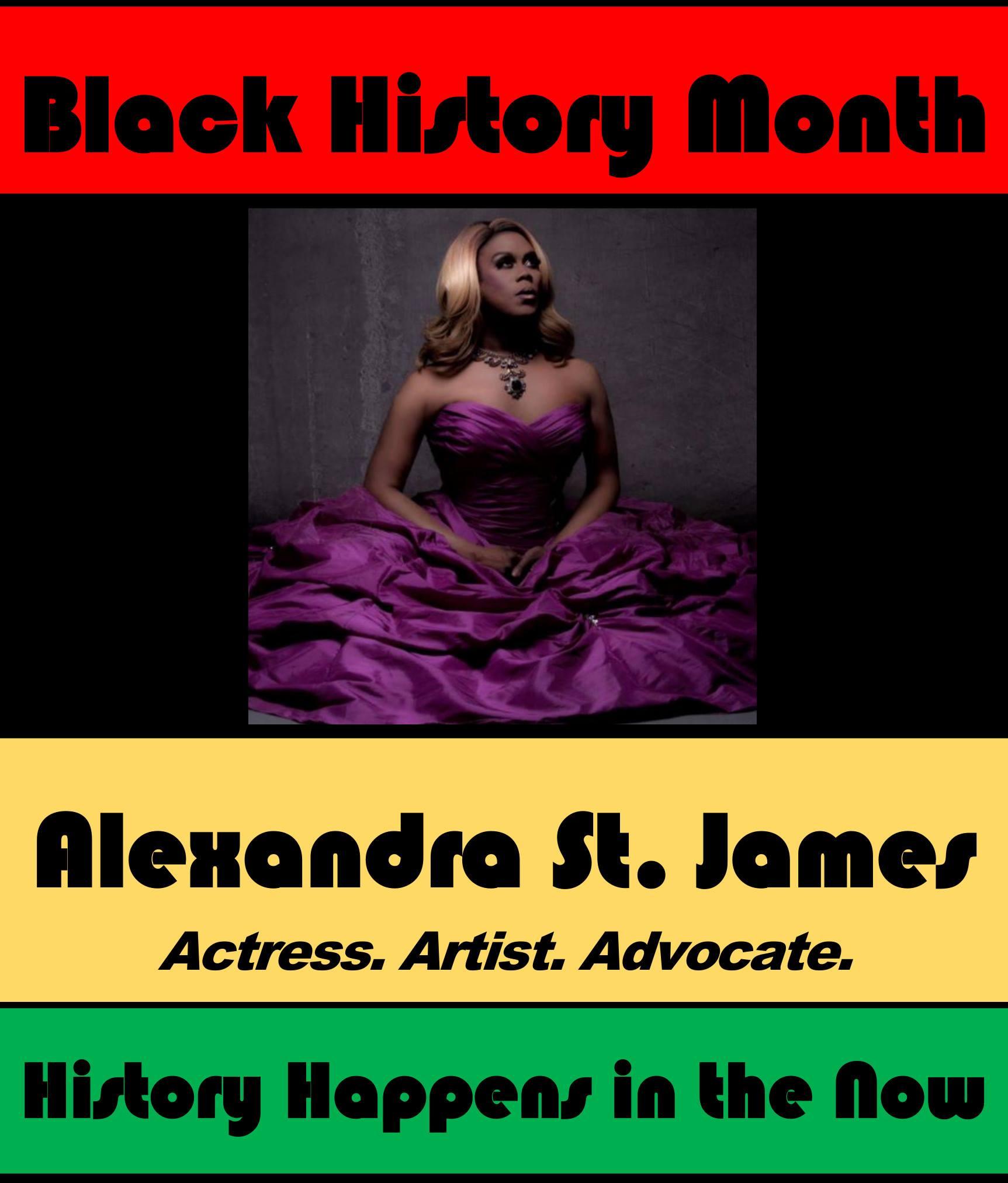 Alexandra St. James #POCKLEBlackHistoryMonth