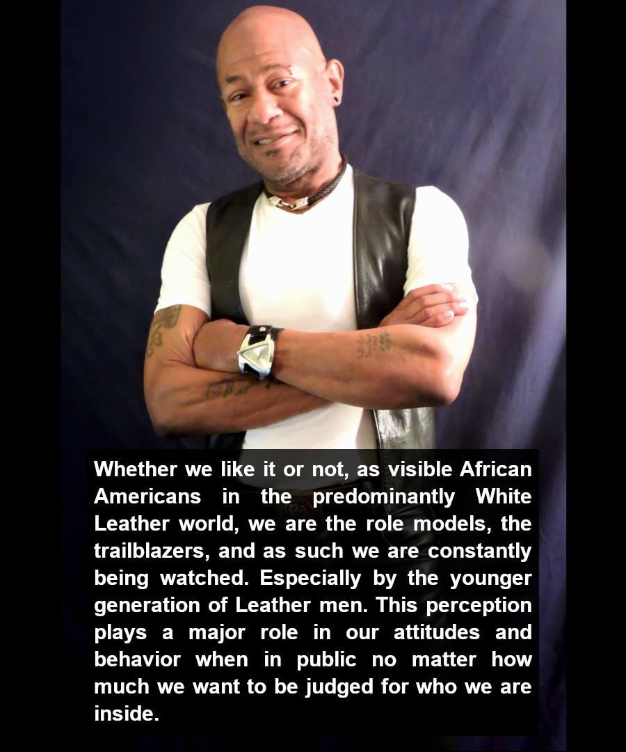Cain Berlinger, from Black Men in Leather (1992) #POCKLEBlackHistoryMonth
