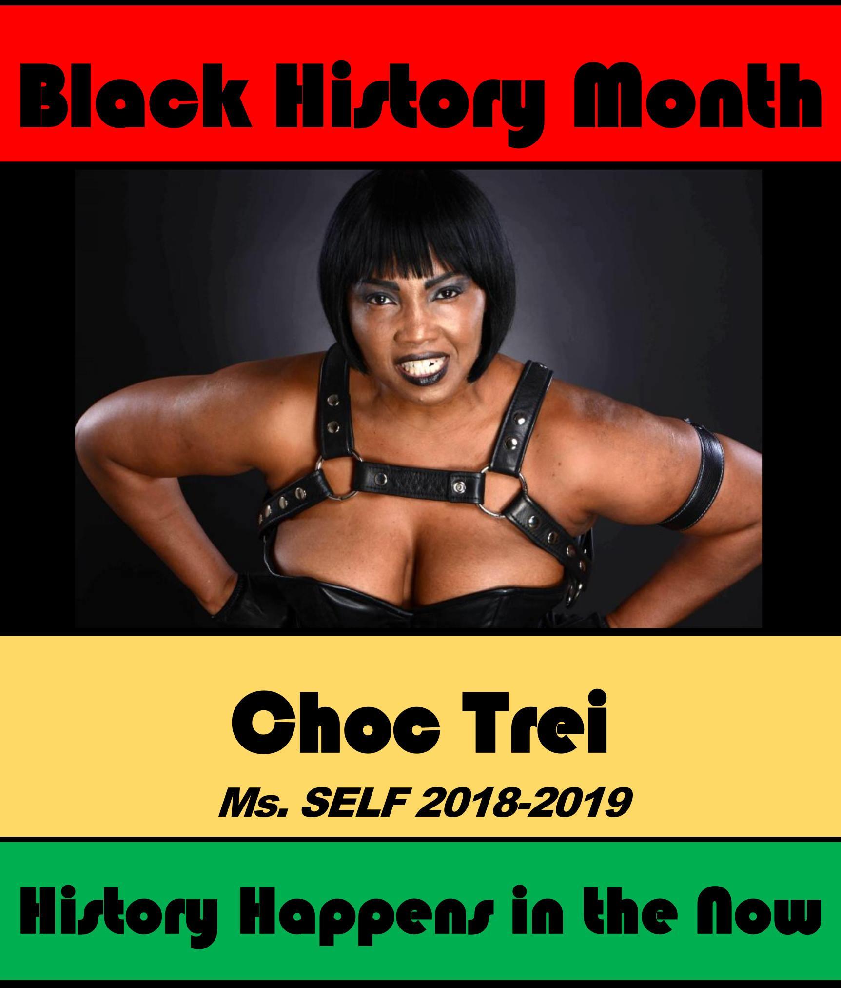 Choc Trei #POCKLEBlackHistoryMonth