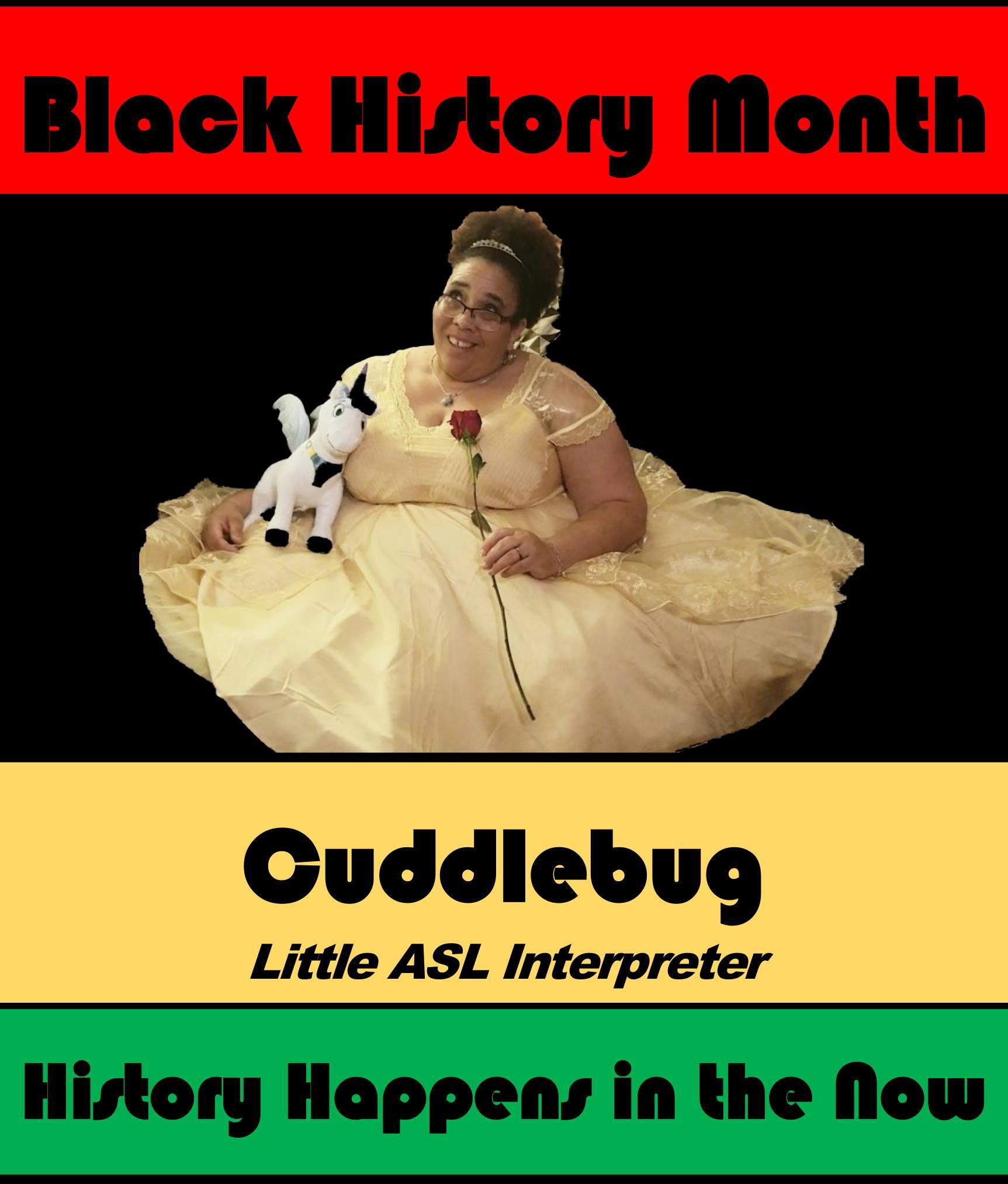 Cuddlebug #POCKLEBlackHistoryMonth