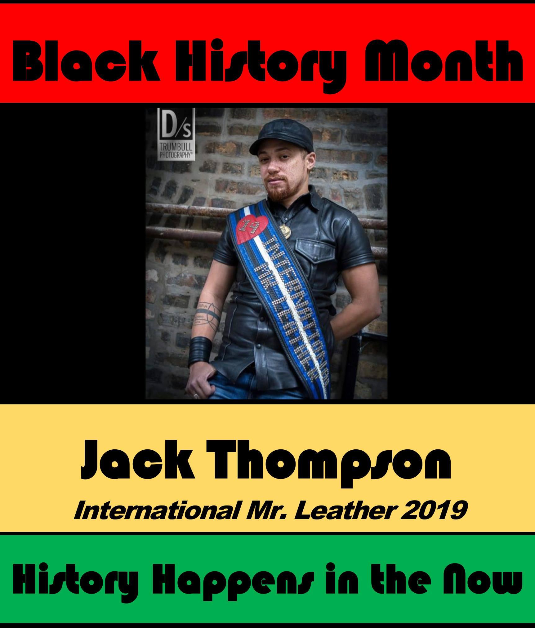 Jack Thompson #POCKLEBlackHistoryMonth