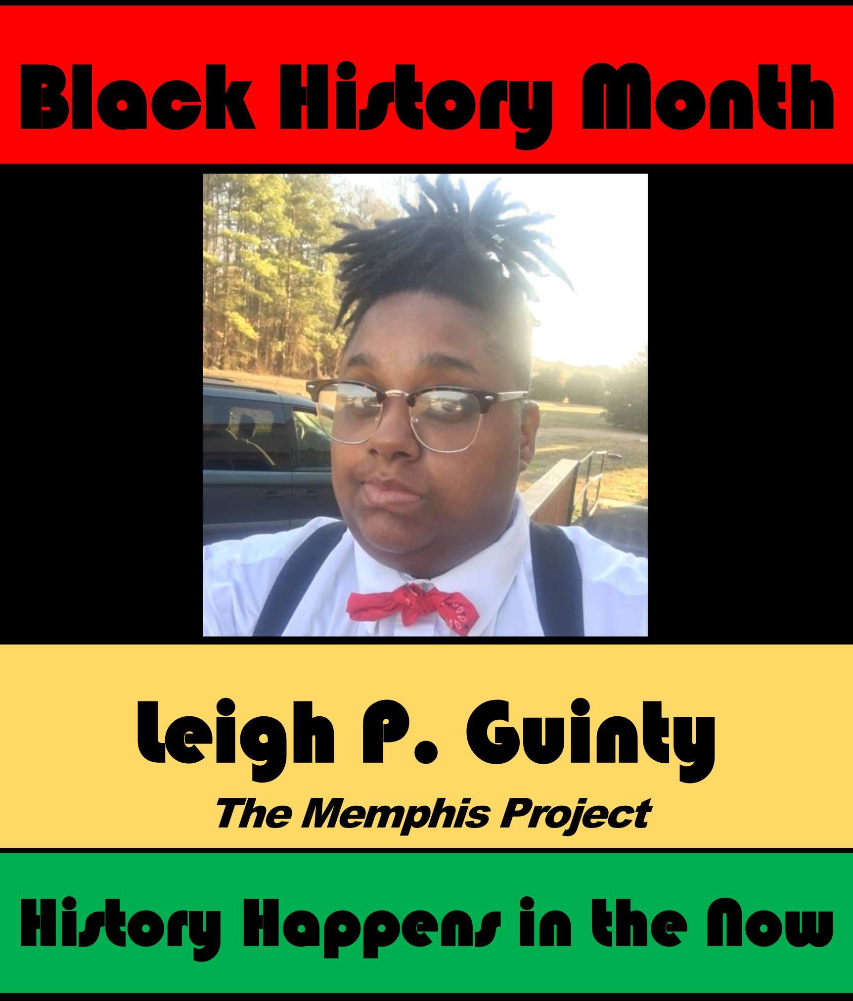 Leigh P. Guinty #POCKLEBlackHistoryMonth