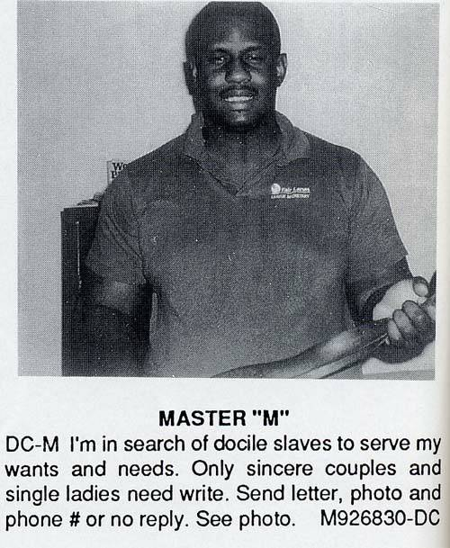 """Master """"M"""""""