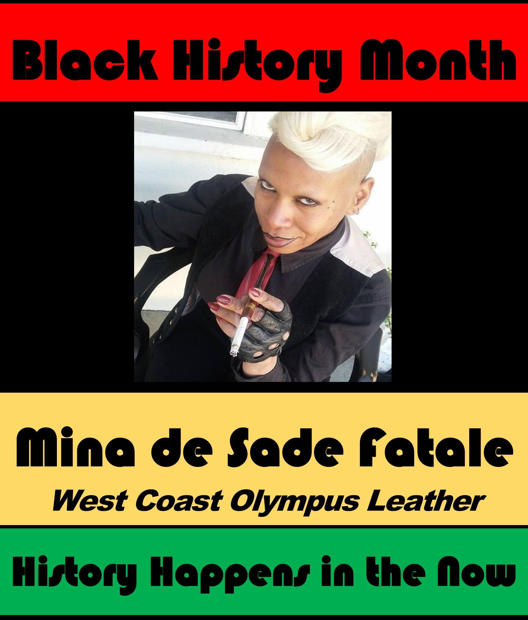 Mina de Sade fatale #POCKLEBlackHistoryMonth