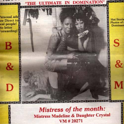 Mistress Madeline & Daughter Crystal #POCKLEBlackHistoryMonth