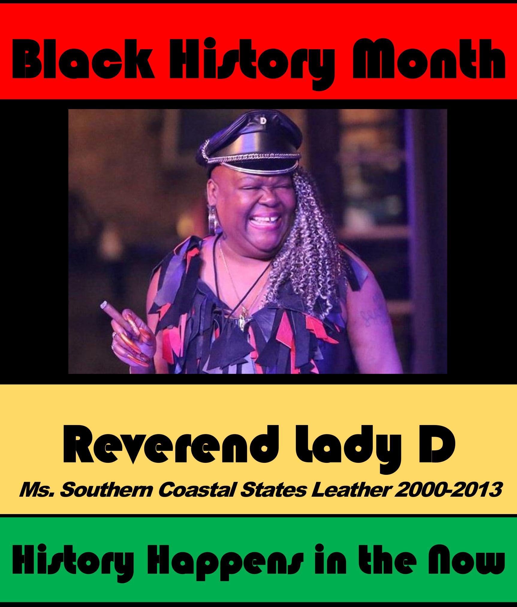 Reverend Lady D #POCKLEBlackHistoryMonth
