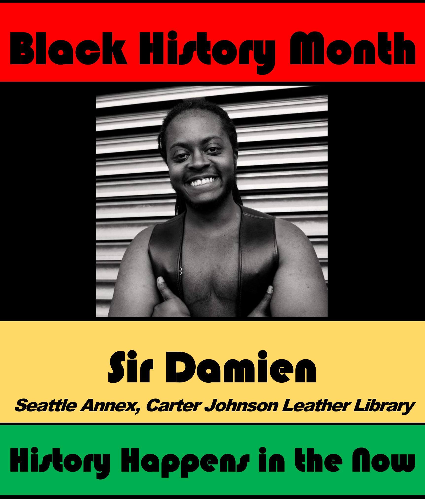 Sir Damien #POCKLEBlackHistoryMonth Damien Oliver