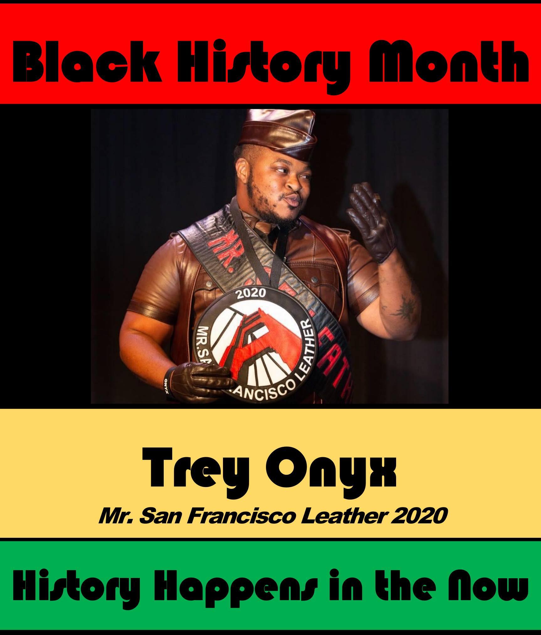 Trey Onyx #POCKLEBlackHistoryMonth