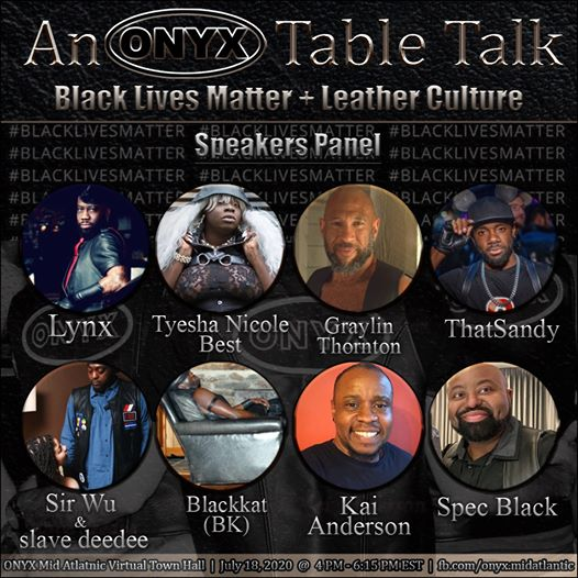 An ONYX Table Talk: BLM + Leather Culture