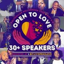 Image may contain: 12 people, text that says 'POLYDALLAS MILLENNIUM 2020 NOV OPEN OPEN TO LOVE L 30 SPEAKERS REGISTER AT BIT.LY/OPEN2LOVE'