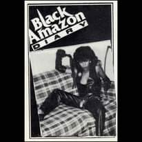 May be a black-and-white image of 1 person and text that says 'Amazon Black Amazon Blackon'