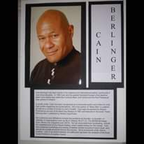 """May be an image of 1 person and text that says 'B E R L I N G e R c A I N Cain parties Holland. and Cuckoos internationa leather community foundedE Europe's introduced Cain Pansexual are ckMe man featuredi book"""" Awarı founder, aa founder, Bondage Coast Pantheon leather eventsi including Leather Award he East'"""